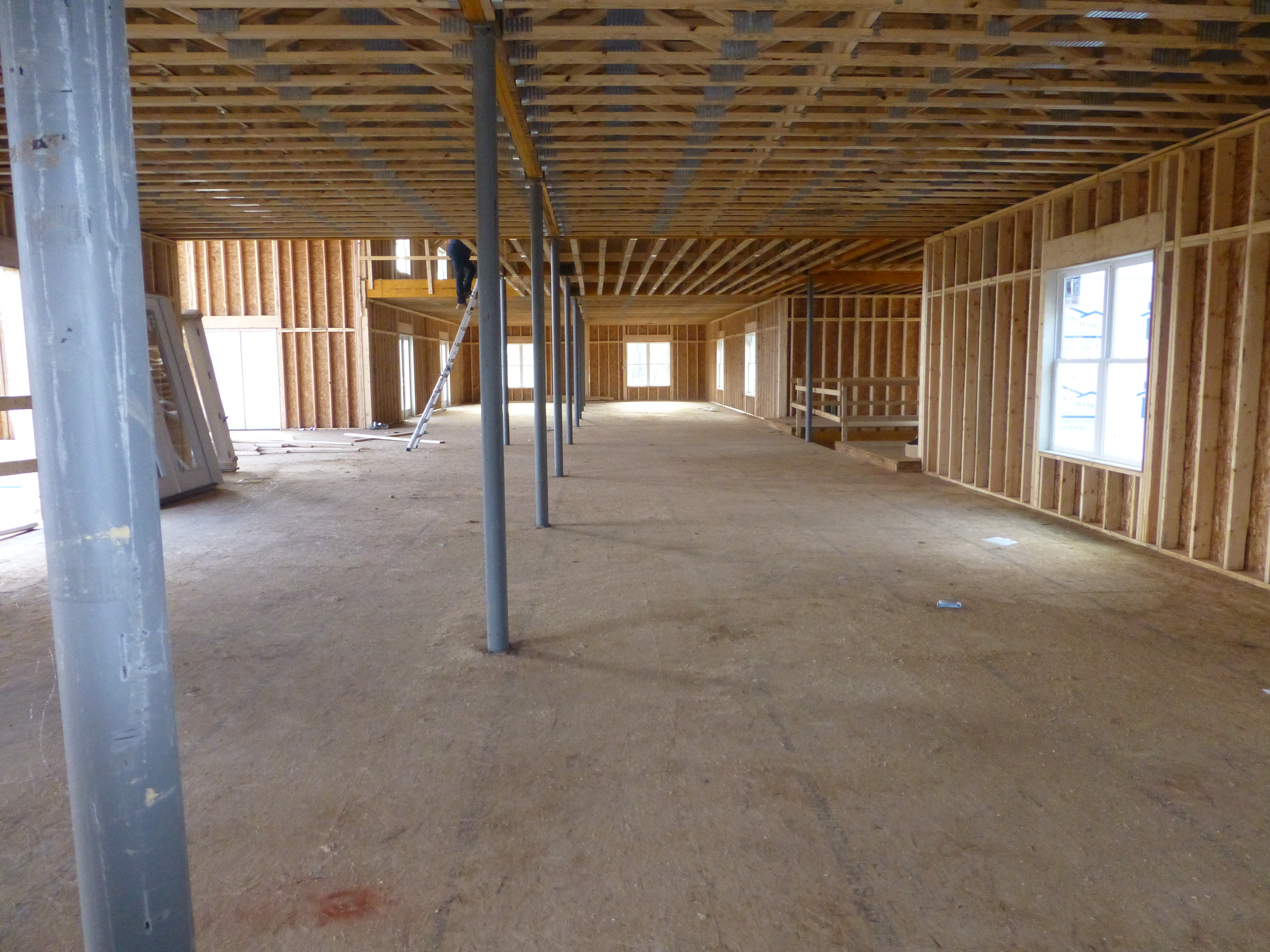 main floor towards welcome area