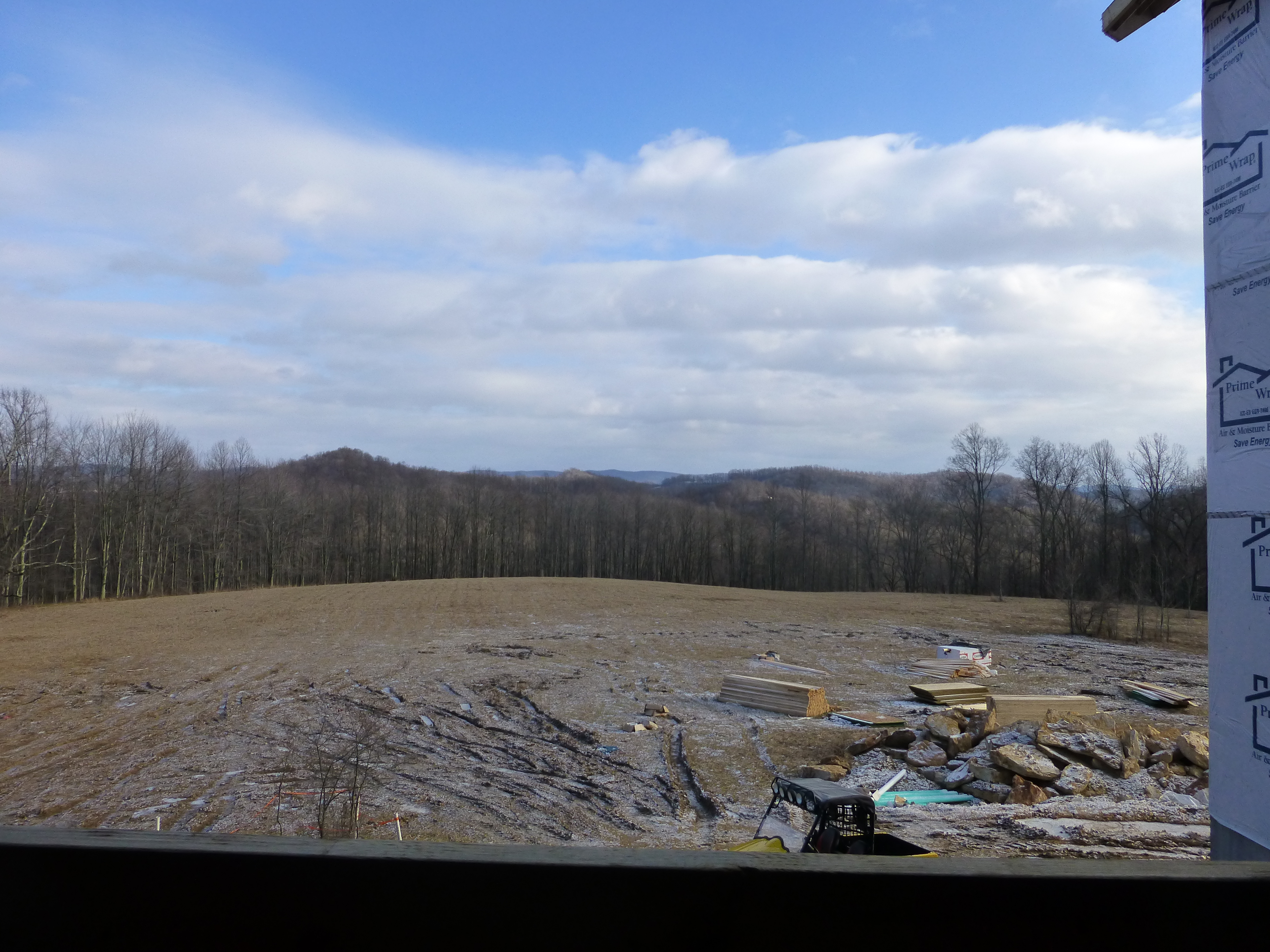 view from main floor front window