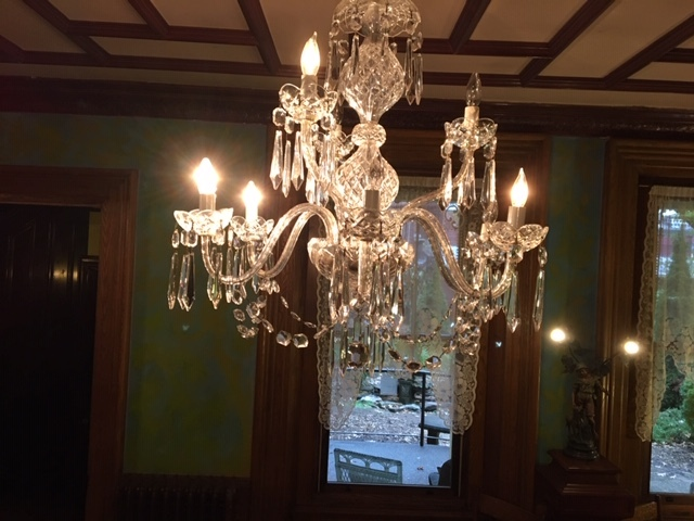 I Cleaned The Crystal Chandelier Over Main Dining Room Table For First Time In A Number Of Years And Wow What Spectacular Piece It Is