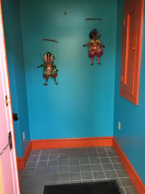 Bromeliad entrance