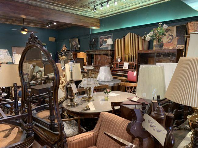 Grimes Interiors antiques